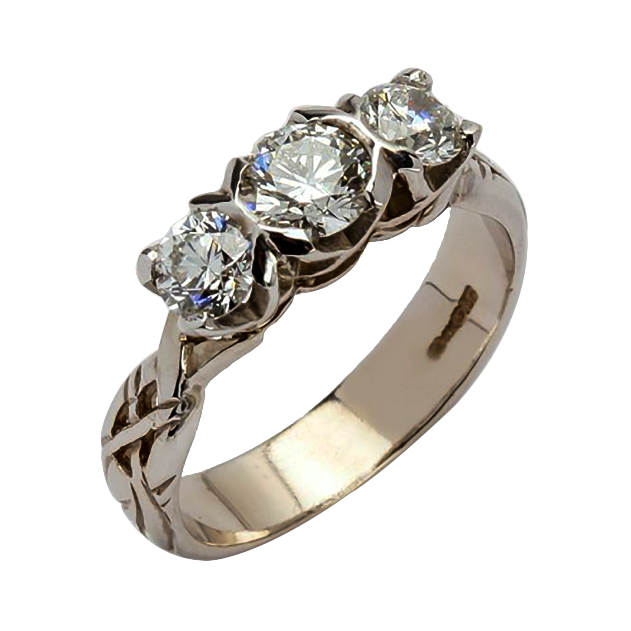 ladies rg itm engagement wedding round dia me ring diamond rings a catch cut gold solitaire