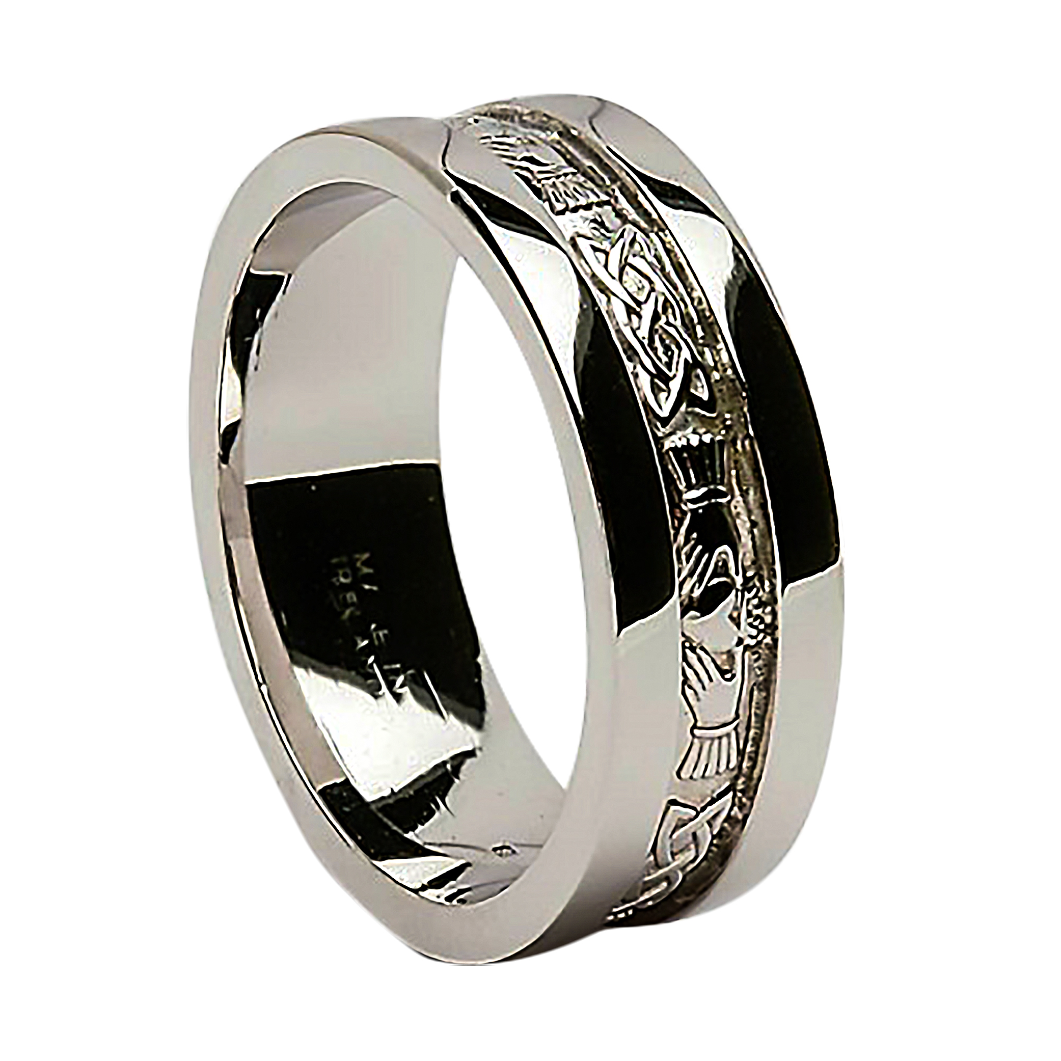 gemvara a gaelic bands match engagement set matching rings true l wedding