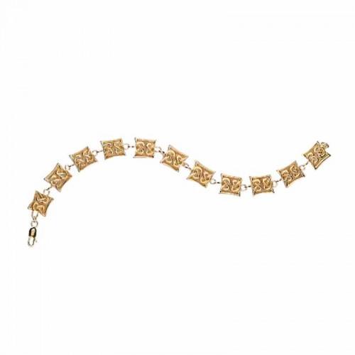 Irish Gold Celtic Bracelet - Avoca - Celtic Knots Other