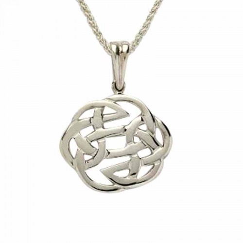 Irish gold pendant celtic knot pendant irish made fado jewelry irish silver pendant celtic rose collection silver jewelry collection aloadofball Gallery