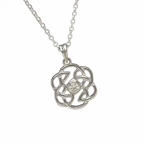 sterling ladies p ls silver celtic htm pendant