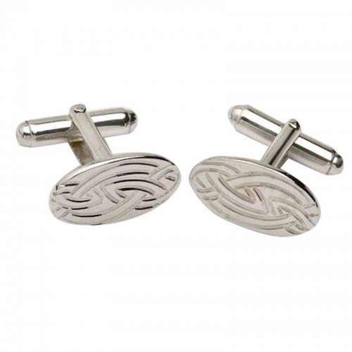 Irish Silver Cufflinks - Livia Collection Livia Jewelry Collection