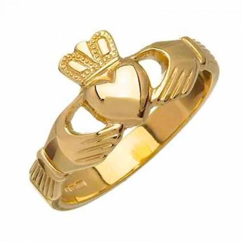Gold Claddagh Ring - Ross Claddagh Rings