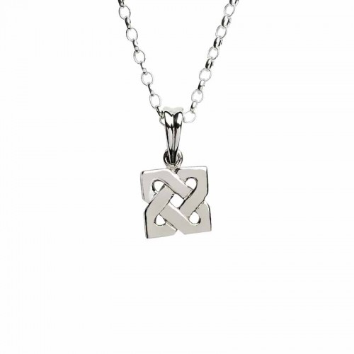 Irish knot pendant irish silver pendant celtic pendant fado irish silver celtic pendant small sheelin collection sheelin jewelry collection mozeypictures Image collections