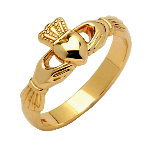 Gold Claddagh Ring - Gill Claddagh Rings