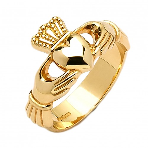 Gold Claddagh Ring - Cong Claddagh Rings