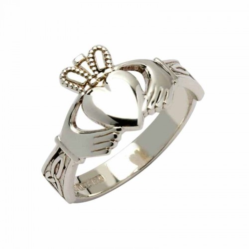 Silver Claddagh Ring - Clare Claddagh Rings