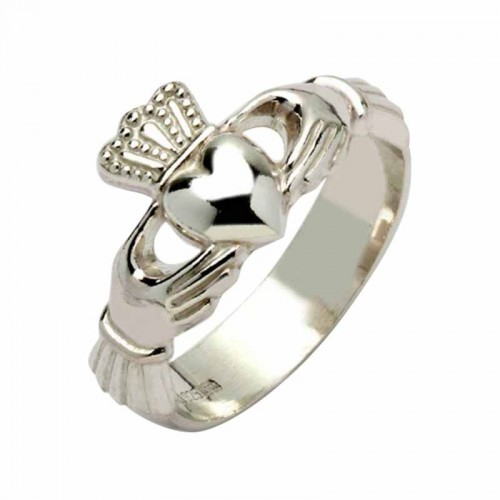 Silver Claddagh Ring - Cong Claddagh Rings