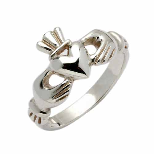 Silver Claddagh Ring - Erne Claddagh Rings